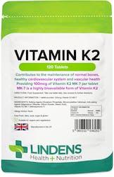 Lindens Vitamin K2 100mcg 120 Tablets
