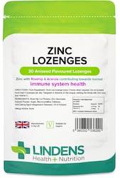 Lindens Health + Nutrition Zinc Lozenges 30s