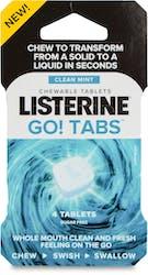 Listerine Go Tabs 4 Tablets