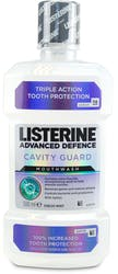Listerine Mouthwash Advanced Cavity Guard 500ml