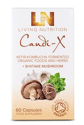 Living Nutrition Candi-X 60 Capsules