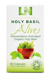Living Nutrition Holy Basil Alive 60 Capsules