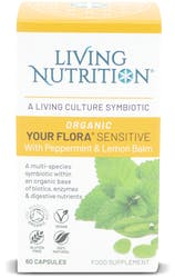 Living Nutrition Organic Your Flora Sensitive 60 Capsules
