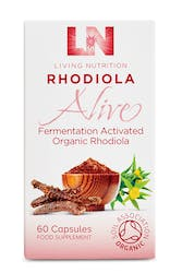 Living Nutrition Rhodiola Alive 60 Capsules
