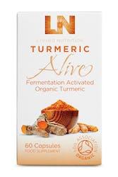 Living Nutrition Turmeric Alive 60 Capsules