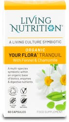 Living Nutrition Your Flora Tranquil 60 Capsules