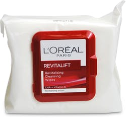 L'Oreal Paris Revitalift Revitalising Cleansing Wipes 25