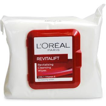 L'Oréal Paris Revitalift Revitalising Cleansing Wipes 25