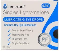 Lumecare Hypromellose Eye Drops Unite Dose 30x0.5ml