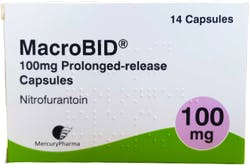 Macrobid Nitrofurantoin 100mg Slow Release (PGD) 6 Capsules