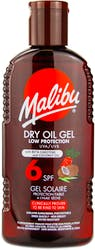 Malibu Dry Oil Gel Carotene Spf 6 200ml