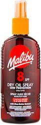 Malibu Dry Oil Spray Spf 8 200ml