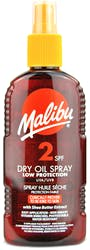 Malibu Dry Oil Spray SPF2 200ml