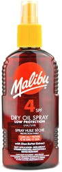 Malibu Dry Oil Spray SPF4 200ml