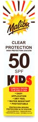 Malibu Kids Clear Protection Spray Pump SPF50 250ml