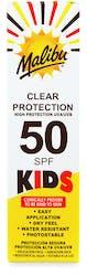 Malibu Kids Clear Protection Spray Pump SPF50 250ml