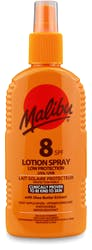 Malibu Lotion Spray SPF8 200ml