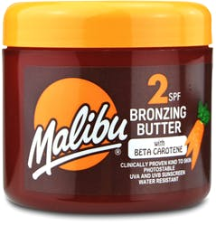 Malibu SPF2 Bronzing Butter With Beta Carotene 300ml
