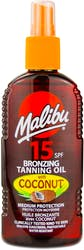 Malibu Tanning Oil Coconut Spf 15 200ml