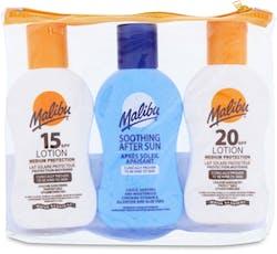 Malibu Travel Pack 3 x 100ml