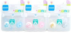 Mam Start Soothers 0-2 Months 2 Soothers