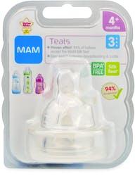 MAM Teats (Fast Flow) 4+months 1 Teat