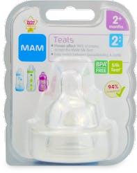 MAM Teats (Medium Flow) for 2+ months 1 Teat