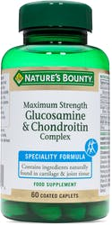Nature's Bounty Maximum Strength Glucosamine & Chondroitin  Complex 60 Caplets