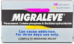 Migraleve Complete 16 Pink and 8 Yellow Tablets 24s'