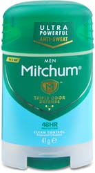 Mitchum Men Clean Control Stick 41g