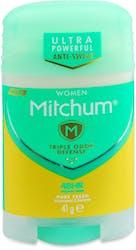 Mitchum Women Pure Fresh Stick Deodorant 41g