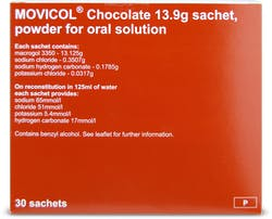 Movicol Sachets Chocolate 30s