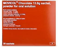 Movicol Sachets Chocolate 30