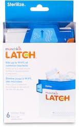 Munchkin Latch Microwave Steriliser Bags 6 Pack