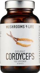 Mushrooms 4 Life Organic Cordyceps 60 Capsules
