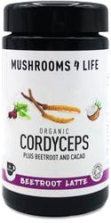 Mushrooms 4 Life Organic Cordyceps Beetroot Latte 130g
