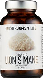 Mushrooms 4 Life Organic Lion's Mane 60 Capsules