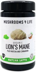 Mushrooms 4 Life Organic Lion's Mane Matcha Latte 110g