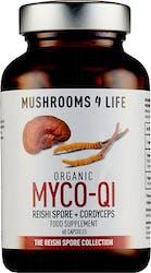 Mushrooms 4 Life Organic Myco-Qi 60 Capsules