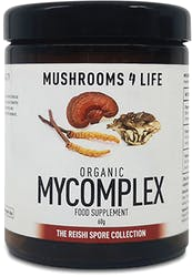 Mushrooms 4 Life Organic Mycomplex Powder 60g
