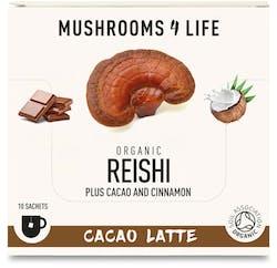 Mushrooms 4 Life Organic Reishi Cacao Latte 10 Sachets