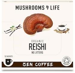 Mushrooms 4 Life Organic Reishi Zen Coffee 10 Sachets