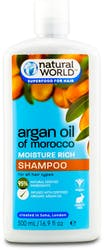 Natural World Argan Oil Of Morocco Shampoo 500ml