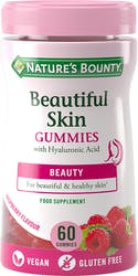 Nature's Bounty Beautiful Skin Gummies – Pack of 60