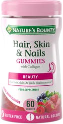 Nature's Bounty Hair, Skin and Nails 60 Gummies