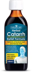 Natures Aid 150ml Catarrh Relief Formula