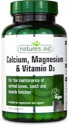 Natures Aid Calcium Magnesium & D3 90 Capsules