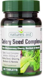 Natures Aid Celery Seed Complex 60 Tablets