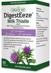 Nature's Aid DigestEeze (Milk Thistle) 60 Tablets