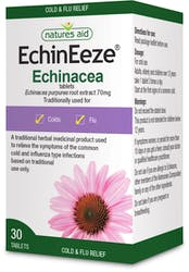 Natures Aid Echineeze (Echinacea) 30 Tablets